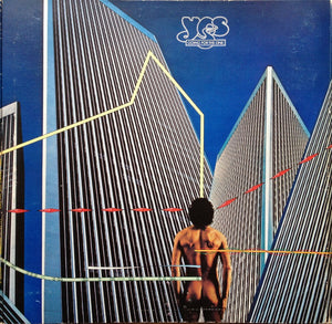 Yes ‎– Going For The One - VG+ Lp Record 1977 USA Vinyl - Prog Rock