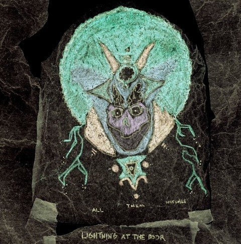 "All Them Witches - Lightning at the Door - New Lp Record 2016 USA 180 gram Colored Vinyl & 7"" & Download - Stoner Rock / Psychedelic Rock"