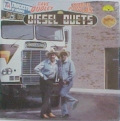 Dave Dudley & Charlie Douglas ‎– Diesel Duets - New Vinyl Record (1980 Original Press) (Gold Translucent Vinyl) - Country