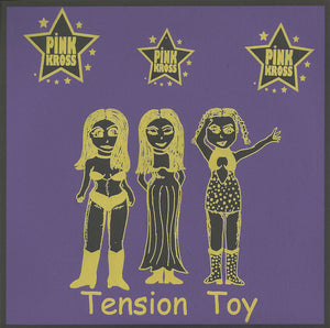 "Pink Kross ‎– Tension Toy - New Vinyl Record 7"" 1997 Original Press CHICAGO Label - Punk Rock"