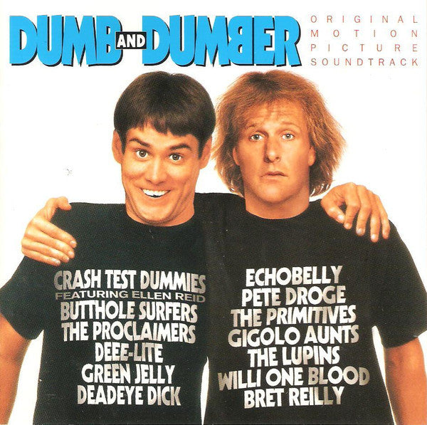 Various ‎– Dumb And Dumber Original Motion Picture New 2 Lp Record 2014 SRC USA on Blue Vinyl - Soundtrack