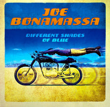 Joe Bonamassa - Different Shades of Blue - New Vinyl 2015 J&R Deluxe Gatefold 2-LP 180gram Vinyl w/ Download - Blues Rock