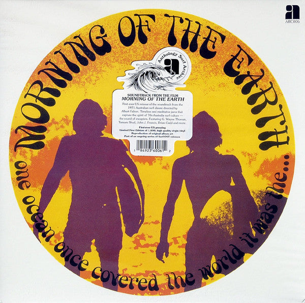 Soundtrack - Morning of the Earth - New Vinyl Record 2014 Anthology Limited First US Press of 1000 Copies w/ Original Art - Surf Rock / Blues Rock / Psych (FU: Soundtracks)