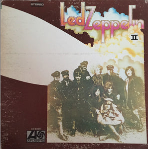 Led Zeppelin ‎– Led Zeppelin II (1969) - VG- (Low grade) 1977 Atlantic USA Vinyl - Classic Rock / Hard Rock
