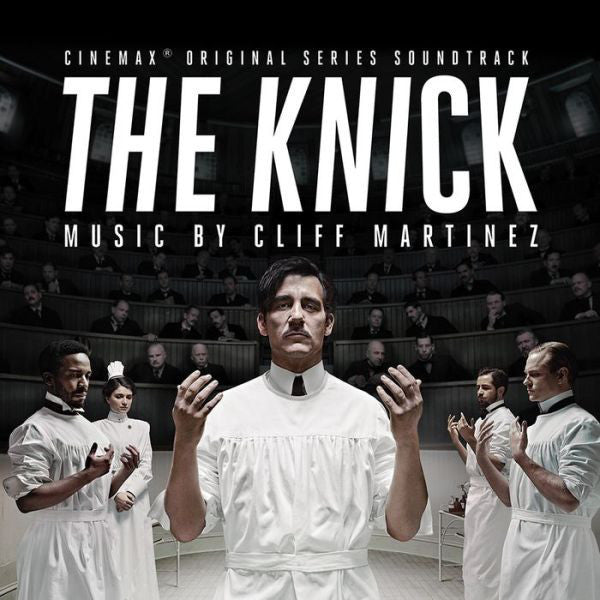 Cliff Martinez - The Knick - New 2 LP Record 2014 Milan USA 180 gram Vinyl & Download - Soundtrack / TV Series