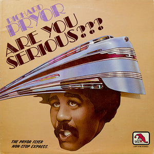 Richard Pryor ‎– Are You Serious??? - VG+ Lp Record 1976 Laff USA Vinyl - Comedy