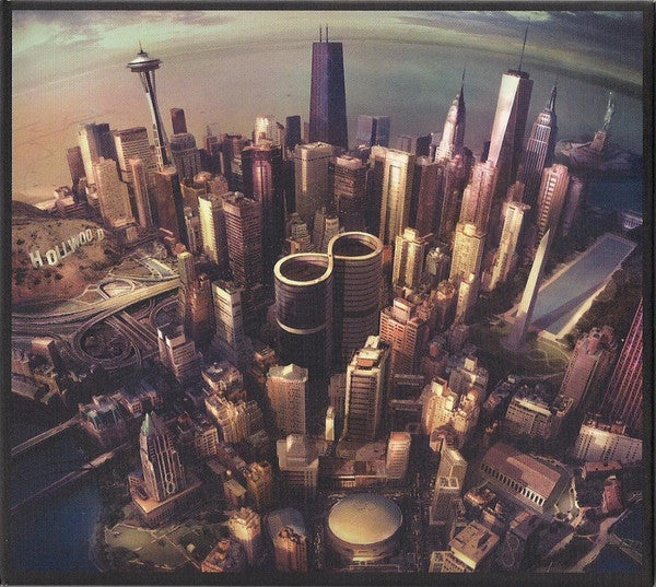Foo FIghters - Sonic Highways - New Lp Record 2014 RCA Europe Import Vinyl - Alternative Rock