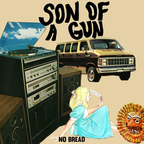 Son of a Gun - No Bread - New Vinyl 2014 - Tall Pat Records, Random colored vinyl limited to 300 copies! - Includes Download - Chicago IL Garage / Punk