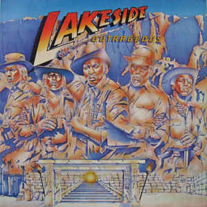 Lakeside ‎– Outrageous - VG+ 1984 Stereo Original Press USA - Funk