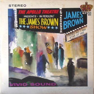 James Brown ‎– Live At The Apollo 1963 - New Vinyl Record 2015 Europe Import - 180 Gram - Funk