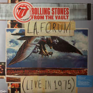 The Rolling Stones ‎– L.A. Forum Live In 1975 - New 3 Lp Record Set with DVD 2014 USA Vinyl - Classic Rock / Blues Rock