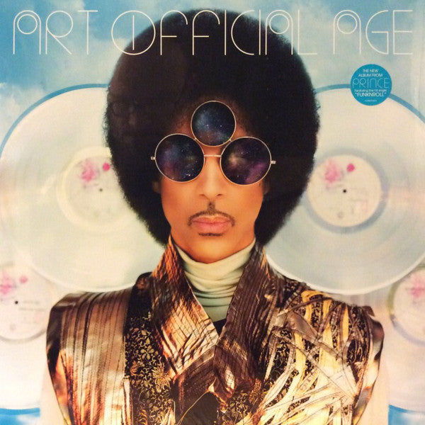 Prince - Art Official Age - New 2 Lp Record 2014 USA Vinyl - Rock / Funk / Purp