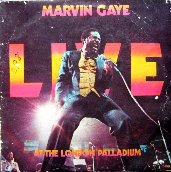 Marvin Gaye - Live At The London Palladium - Mint- (cover VG) 2 Lp Record 1977 Stereo USA Original - Soul / Funk