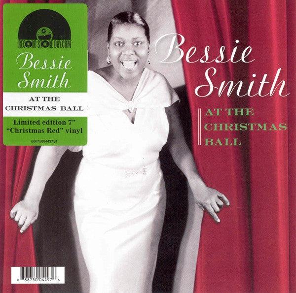 "Bessie Smith - At the Christmas Ball - New Vinyl Record 2014 RSD Black Friday 7"" on Red Vinyl Limited to 3000 - Jazz"