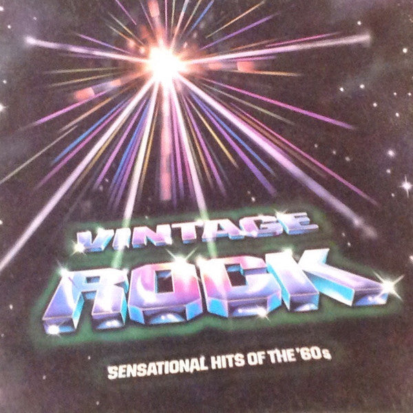 Various – Vintage Rock: Sensational Hits Of The '60s - Mint- 6 Lp Stereo USA 1981 - Rock/Pop