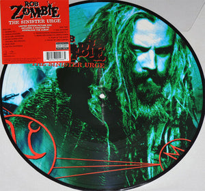 Rob Zombie - The Sinister Urge - New Lp Record 2014 Geffen USA Picture Disc Vinyl - Heavy Metal / Industrial