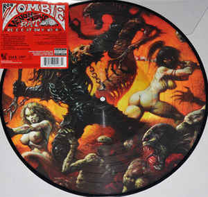 Rob Zombie - Venomous Rat - New Vinyl Record 2014 Universal Limited Edition Picture Disc - Metal / Hardrock / Industrial