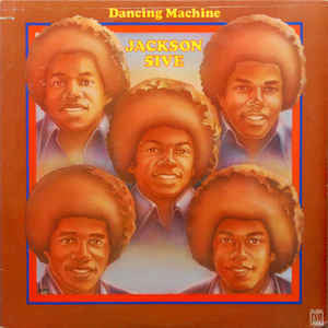 The Jackson 5 - Dancing Machine - VG+ (VG Cover) Stereo 1974 Motown Original Press USA - Soul - B7-086