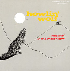 Howlin' Wolf ‎– Moanin' In The Moonlight - New Vinyl - 180 Gram UK Press - Blues