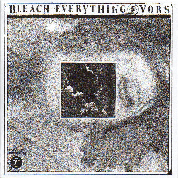 "Bleach Everything & Vors - Split 7"" - New Vinyl Record 2014 Magic Bullet USA 7"" Single on White Vinyl - Hardcore / Punk"