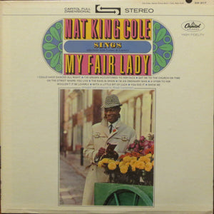 Nat King Cole ‎– Sings My Fair Lady - VG+ Lp Record 1964 USA Stereo Vinyl - Jazz / Vocal