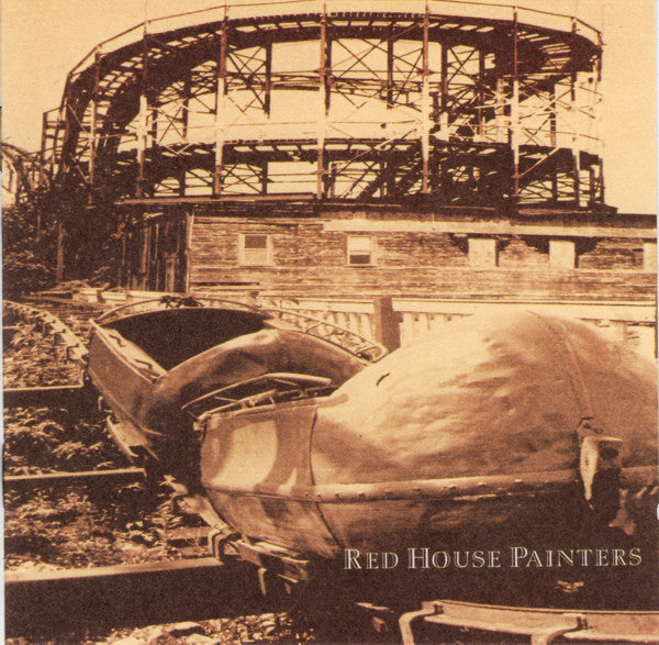 Red House Painters - S/T (Roller Coaster Cover) - New Vinyl Record 2015 4AD 2-LP Reissue - Alt / Indie / Folk Rock