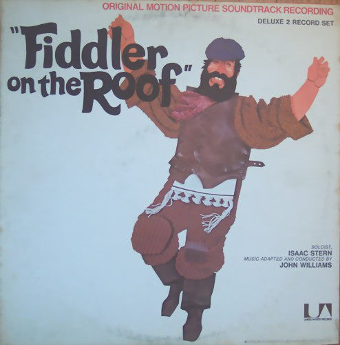 John Williams ‎– Fiddler On The Roof (Original Motion Picture Recording) -VG+ 2 Lp Record 1971 USA Vinyl &  Booklet - Soundtrack