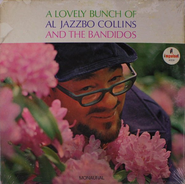 Al Jazzbo Collins – A Lovely Bunch Of Al Jazzbo Collins And The Bandidos - VG+ 1967 Stereo (Original Press Orange/Black Label) USA - Jazz