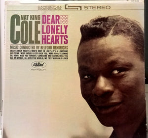 Nat King Cole - Dear Lonely Hearts - VG+ LP Record 19623 Capitol USA - Jazz