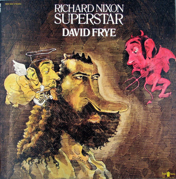 David Frye ‎– Richard Nixon: Superstar - VG+ - 1971 - Used Vinyl Lp