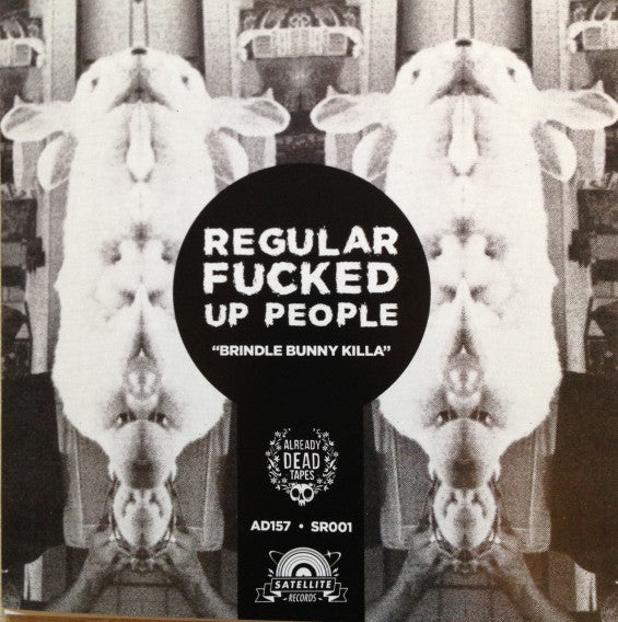 "Regular Fucked Up People / Boring People - Split 7"" Single - New Vinyl 2015 Aready Dead Tapes Limited Press of 1000 - Chicago, IL / Kalamazoo, MI Alt-Rock / Grunge / Garage Pop FFO: Weezer, Dino Jr., Pavement"