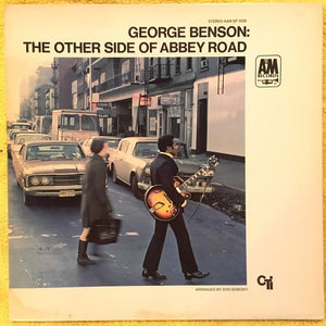 George Benson ‎– The Other Side Of Abbey Road - VG+ Lp Record 1970 A&M USA Vinyl - Jazz-Funk