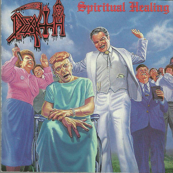 Death - Spiritual Healing - New Vinyl 2014 Relapse Records Reissue - Death Metal