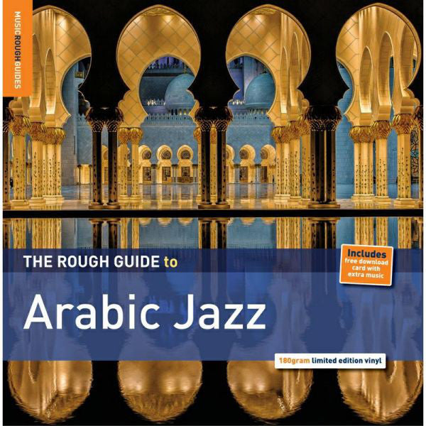 Various Artists - Rough Guide To Arabic Jazz - New Vinyl Record 2015 - Limited Pressing, 180gram Vinyl. Includes download