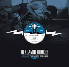 Benjamin Booker - Live at Third Man Records - New Vinyl 2015 TMR USA - Recorded Live 09.24.2014