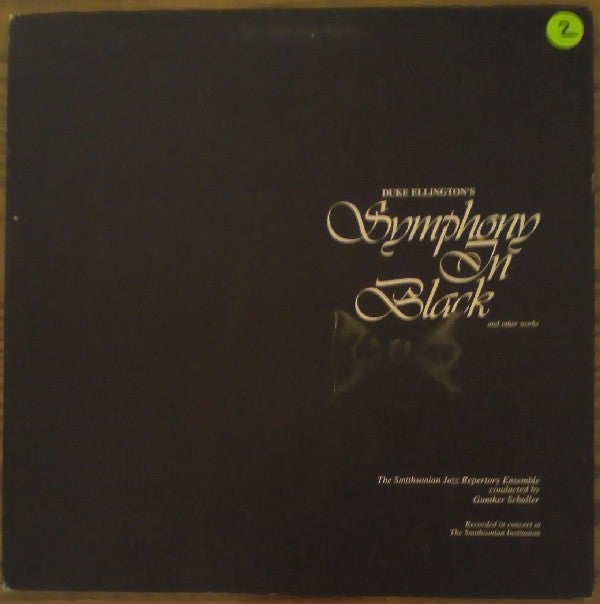 Duke Ellington - Symphony in Black - Mint- Stereo 1981 Smithsonian Collection USA Jazz - B11-017