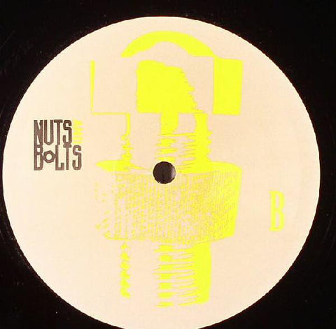 "Unknown Artist ‎– Nuts And Bolts (Remix of Roman Flügel ‎– Geht's Noch?) - Mint- 12"" Single Record 2005 USA Vinyl - House / Electro House"