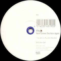 "Akyra – Here Comes The Rain Again - VG 12"" German Import - Trance"