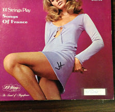 101 Strings Of Play, Songs Of France - VG+ USA - Shuga Records Chicago