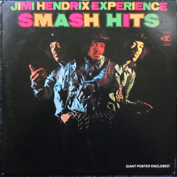 The Jimi Hendrix Experience ‎– Smash Hits - VG Lp Record Stereo 1969 USA - Psychedelic Rock / Classic Rock