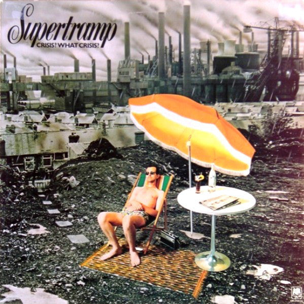 Supertramp ‎– Crisis? What Crisis? - VG+ Stereo 1975 USA - Rock