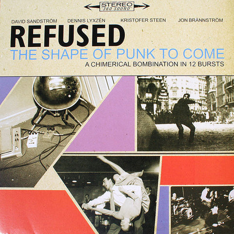 Refused - The Shape of Punk to Come - New Vinyl Record 2010 Deluxe 2-LP Gatefold w/ CD Copy, Poster, + 'REFUSED ARE FUCKING DEAD' DVD - Hardcore / Post-Hardcore / Influential as fuck.