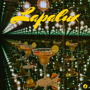 Lapalux - Lustmore - New Vinyl Record 2015 Brainfeeder Deluxe Gold Foil / Velvet Cover, Translucent Orange w/ Black Haze Vinyl - Beat Music / HipHop / IDM (FU: Brainfeeder)