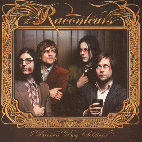 The Raconteurs ‎– Broken Boy Soldiers(2010) - New Vinyl (New Reissue on 180 Gram Vinyl with a Copper-Embossed Gatefold Tip-On Jacket)