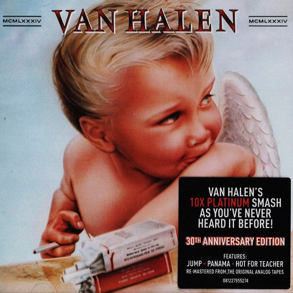 Van Halen - 1984 (1984) - New Lp Reocrd 2015 Warner USA 180 gram Vinyl - Hard Rock