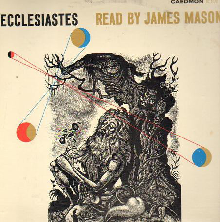 James Mason - Reads Ecclesiastes Poetry - VG+ 1957 USA Mono (Spoken Word) - B17-103