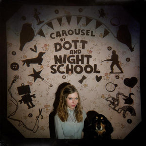 "Dott And Night School ‎– Carousel - New 12"" Single Record Store Day 2015 Graveface USA RSD Purple Marble Vinyl & Download - Indie Rock"