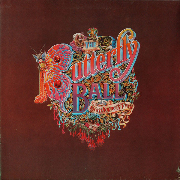 Roger Glover And Guests ‎– The Butterfly Ball And The Grasshopper's Feast - VG+ Lp Record 1975 USA Original Vinyl - Rock / Prog / Pop