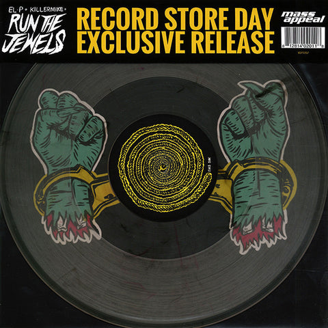 "Run The Jewels ‎– Bust No Moves - New 12"" Single 2015 USA RSD Vinyl Record Store Day - Hip Hop"