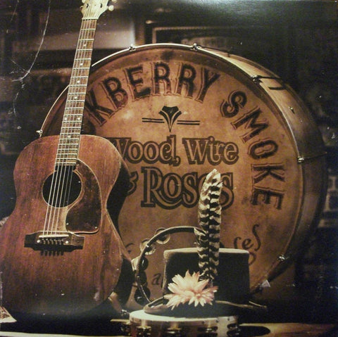 "Blackberry Smoke - Wood Wire and Roses - New 10"" Vinyl 2015 RSD 120 Gram vinyl, limited to 2400 Copies"
